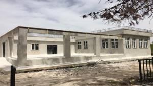Karaköprü'de Çok Amaçlı Salon Yapımına Devam Ediliyor