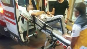 Lahmacun sırasında iki grup birbirine girdi 5 yaralı
