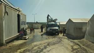 Suruç Çadır Kent Boşaltılmaya Başlandı