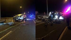 Urfa Antep Yolunda Kaza 1 Ölü 2 Yaralı