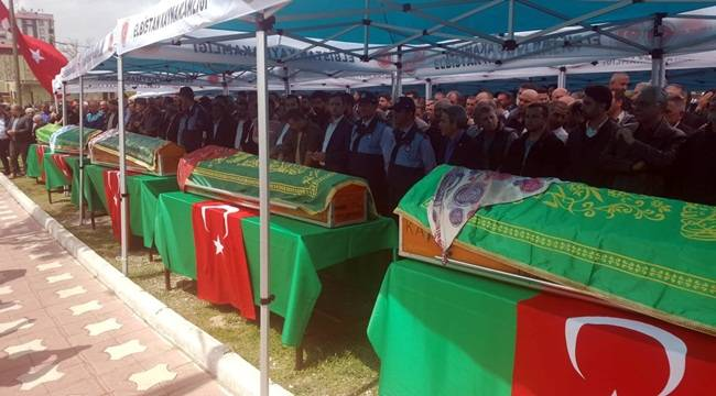 Urfa'da Kazada Vefat Edenler Defnedildi