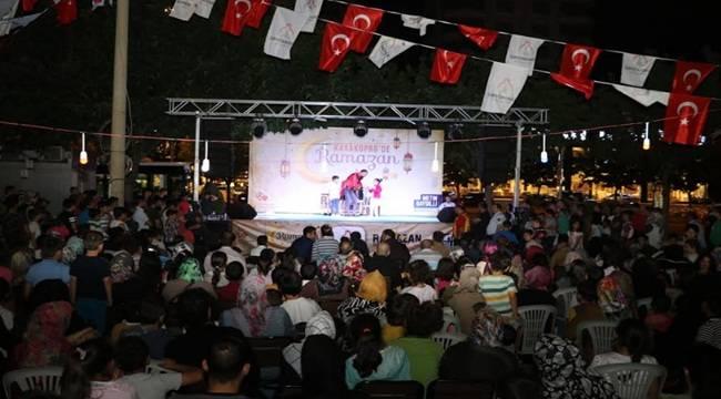 Yaşam Sokağı Ramazan Etkinlikleriyle Rengarenk