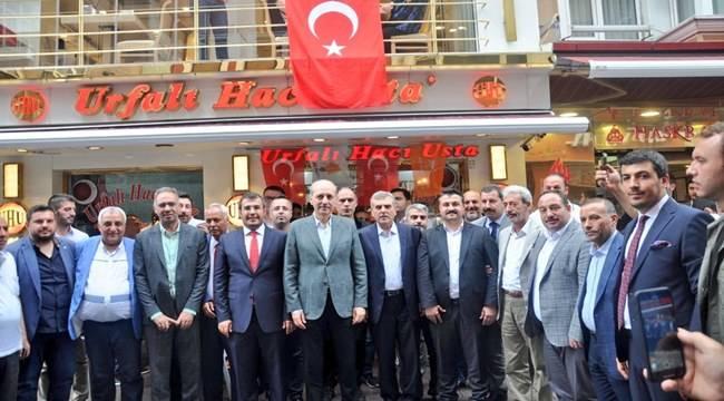 AK Parti Şanlıurfa Teşkilatı Yıldırım İçin Destek İstedi