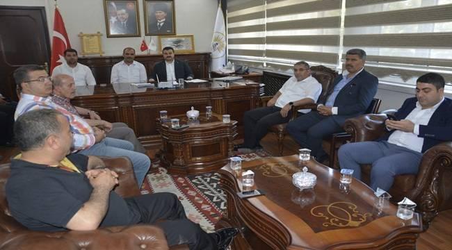 Başkan Yıldız'dan Siverek Belediyesine Ziyaret