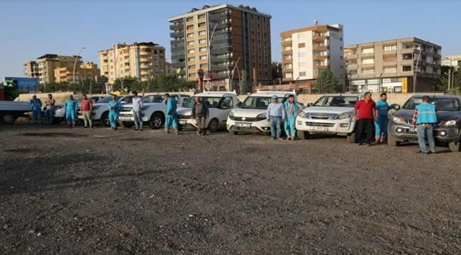 Eyyübiye'de İlaçlama Çalışmaları Hız Kazanıyor