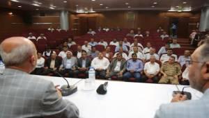 Eyyübiye Muhtarlarına Eğitim Toplantısı