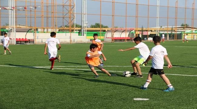 Futbol Yaz Okuluna İlgi Devam Ediyor