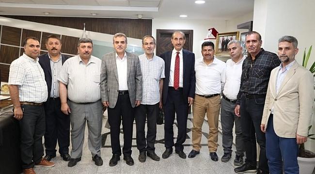 Gazetecilerden Beyazgül'e ziyaret