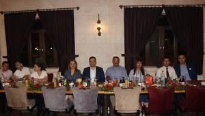 Hakim ve savcılara veda yemeği