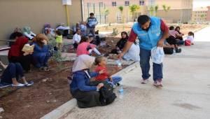 Haliliye Belediyesi soğuk su ikramında bulundu