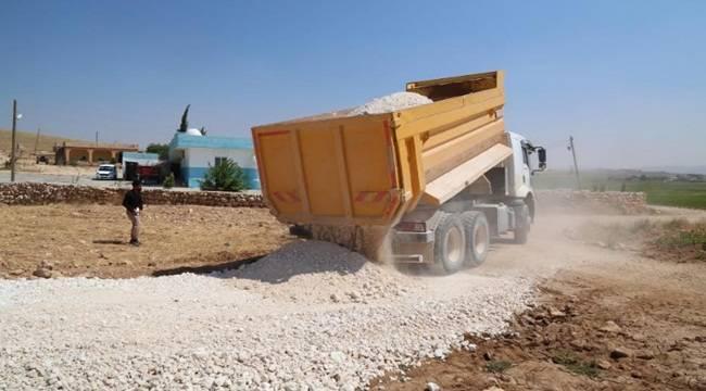 Haliliye'de 5 Mahallede Aynı Anda Yol Yapım Çalışması