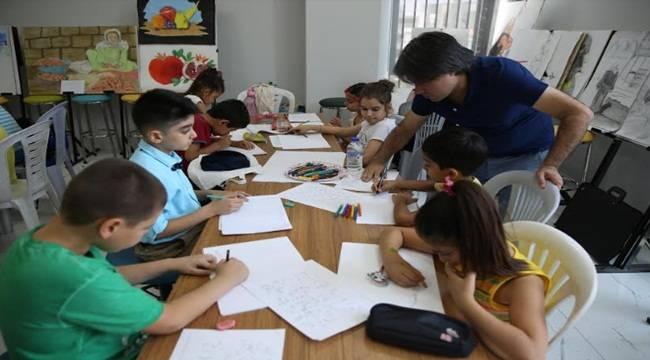 Haliliye'de Resim Kursuna Yoğun İlgi
