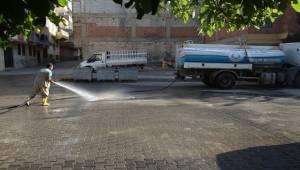 Haliliye'de temizlik çalışmaları devam ediyor