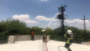 Haliliye'de Trafo Yangını