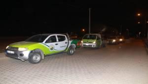 Harran'da Haşerelerle Mücadele Ediliyor