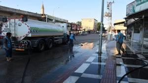 Hilvan Belediyesi Yıkama Çalışması Başlattı