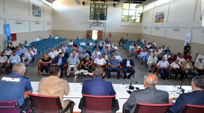 Hilvan'da Muhtarlara Güvenlik Toplantısı