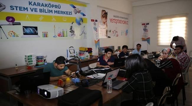 Karaköprü STEM Merkezine Büyük Onur