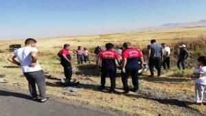 Mardin'de trafik kazası 7 yaralı