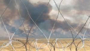 Rasulayn'da Çıkan Yangın Türkiye Sınırına Dayandı