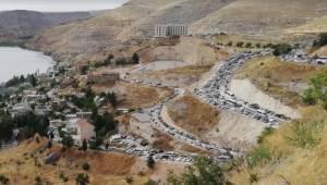Sakin Şehir Halfeti'ye Ziyaretçi Akını