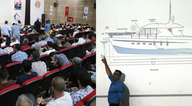 Şanlıurfa'da Gemi Ehliyet Sınavı Düzenlendi