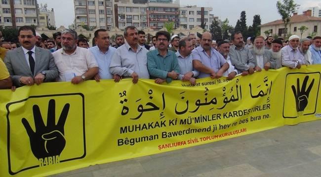 Şanlıurfa'daki STK'lar Mursi Açıklaması