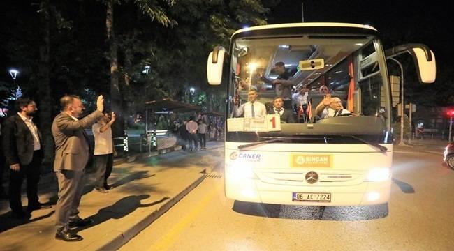 Sincan BelediyesiŞanlıurfa Gezisi Düzenledi