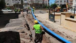 Siverek'te Alt Yapı Çalışmaları Devam Ediyor