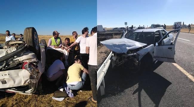 Siverek'te İki Ayrı Kaza 6 Yaralı