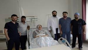 Siverek'te Kapalı Yöntemle Böbrek Ameliyatı Yapıldı