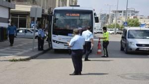 Siverek'te Toplu Taşıma Araçları Denetlendi