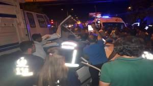 Siverek'te Zincirleme Kaza 3 Ağır Yaralı