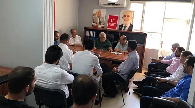 SP İL Yönetim Kurulu toplandı