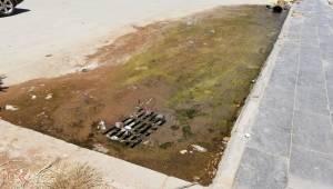 Suruç Devlet Hastanesinin Zemininde Su Birikti