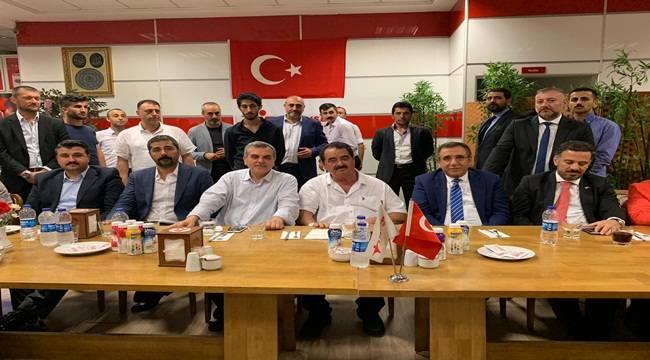 Tatlıses'ten AK Parti'ye Destek Toplantısı