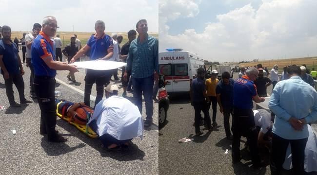 Ticari araç şarampole yuvarlandı 5 yaralı 1 Ölü