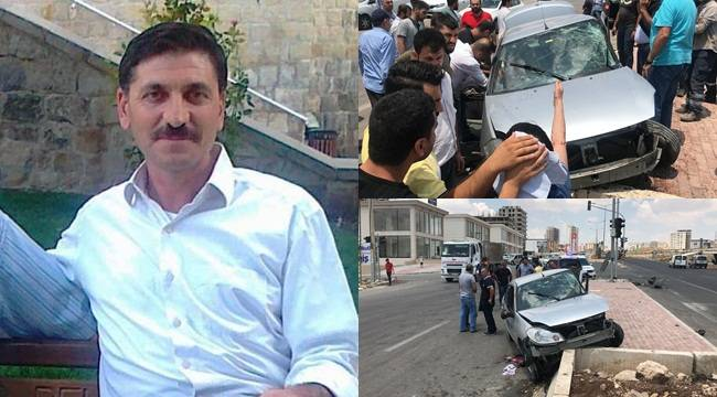 TOKİ Kavşağında Kaza 1 Ölü 2 Yaralı