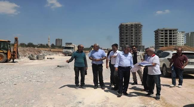 Urfa'da 6 Bulvarın Yapımı Sürüyor