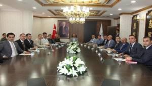 Valilikte Genişletilmiş Güvenlik Toplantısı