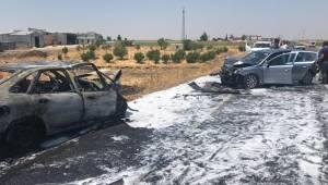 Viranşehir'de Korkunç Kaza 9 Yaralı