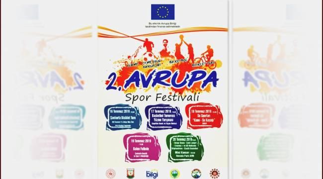 2.Avrupa Spor Festivali Şanlıurfa'da Başlıyor