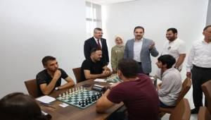 200 Sporcunun Katıldığı Satranç Turnuvası Başladı