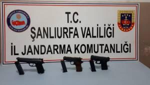 Hillvan'da 3 Adet Ruhsatsız Silah Ele Geçirildi