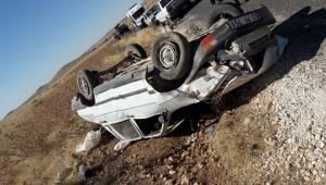 Akçakale Suruç Yolunda Kaza 1 Ölü 3 Yaralı