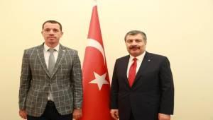 Bakan Koca'dan Viranşehir'e Müjde