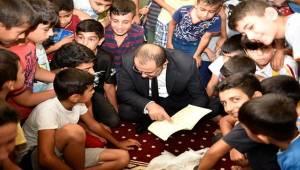 Başkan Aksak Öğrencilerle Birlikte Kur'an Okudu