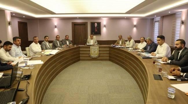 Belediye Başkanları Çözüm İçin Bir Araya Geldiler