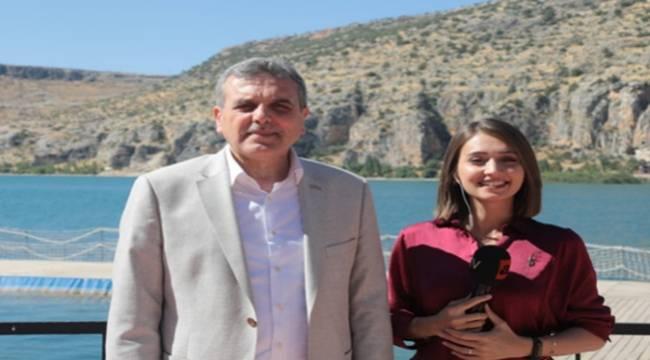 Beyazgül ATV Haber'de Şanlıurfa'yı Anlattı