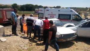 Bozova'da Kaza 4 Yaralı